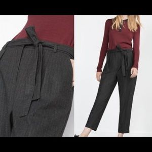 NWT Zara Cropped Trousers